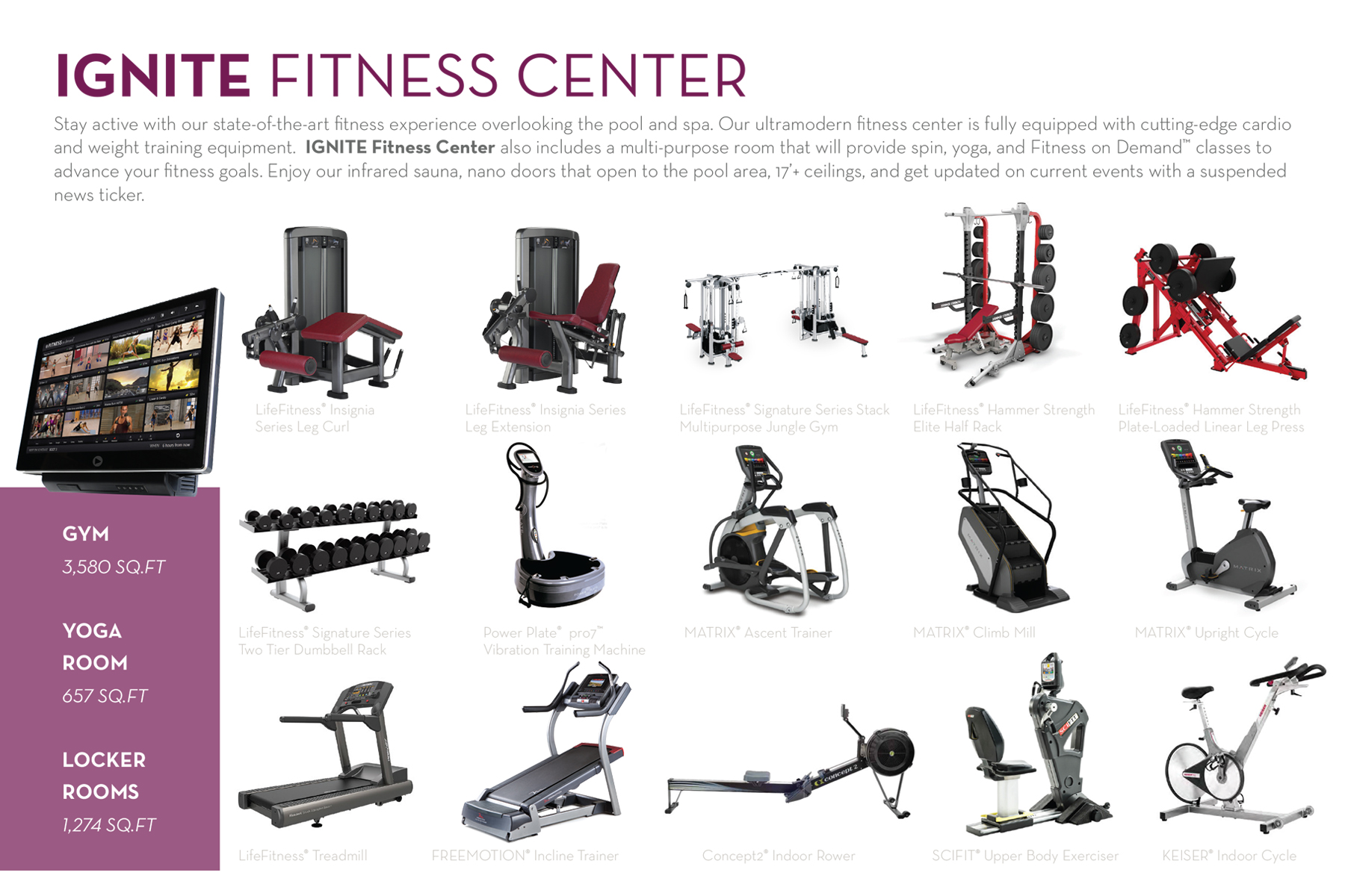 State-of-the-Art Fitness Equipment